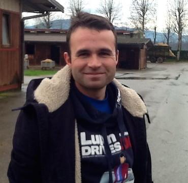 Driver Federico Esposito